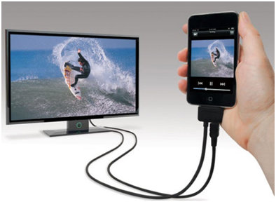 Cablu conectare video pentru iPhone