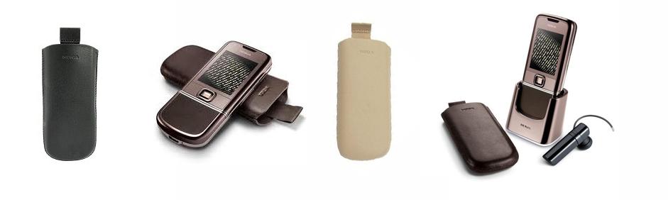 Husa din piele pentru Nokia 8800 Arte originala