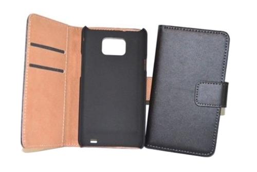 Husa piele portofel Samsung Galaxy S2