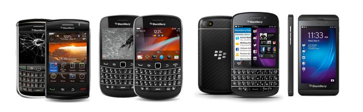 Reparatii service Blackberry