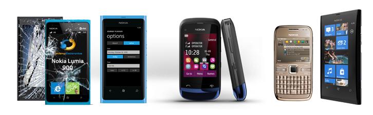 Reparatii service Nokia
