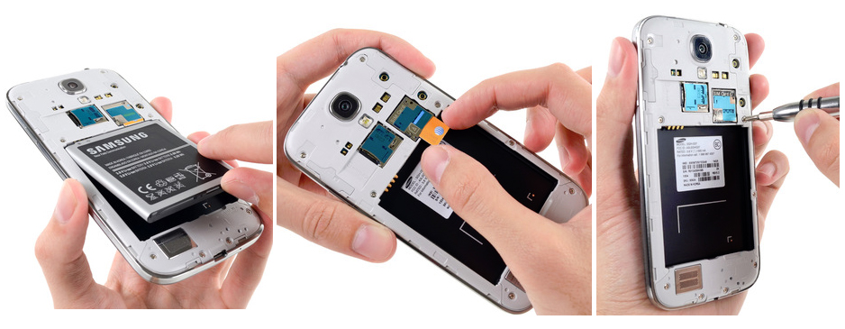 Reparatii hardware si software Samsung Galaxy S4