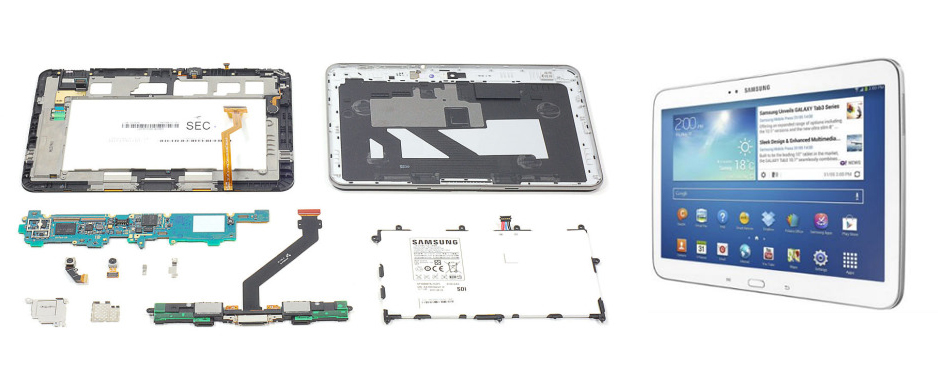 Reparatii tablete Samsung Galaxy