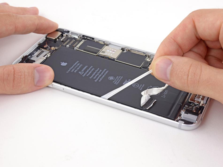 Dezmembrare baterie iPhone 6 Plus