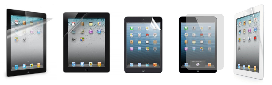 Folii de protectie pentru Apple iPad