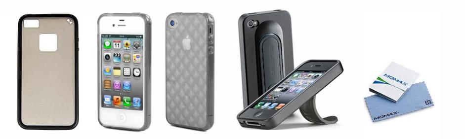 Huse din silicon pentru iPhone 4