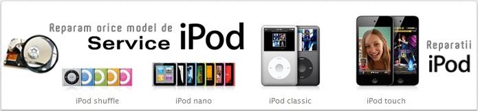 Reparatii si Service iPod