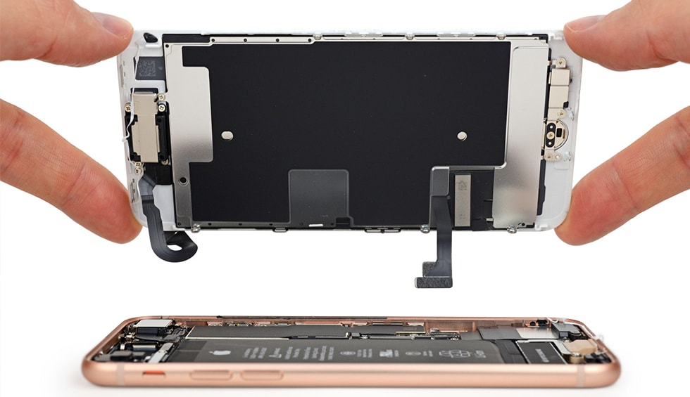 Reparatii si inlocuire display iPhone 8